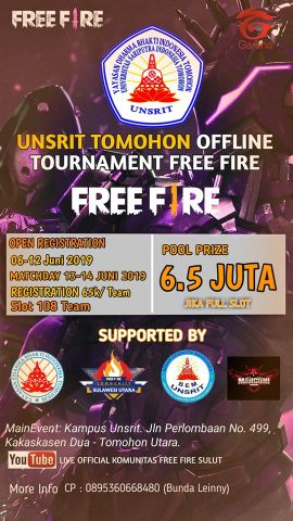 Unsrit Offline Tournament Free Fire